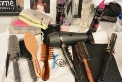 hair styling tools. spring clean hair products