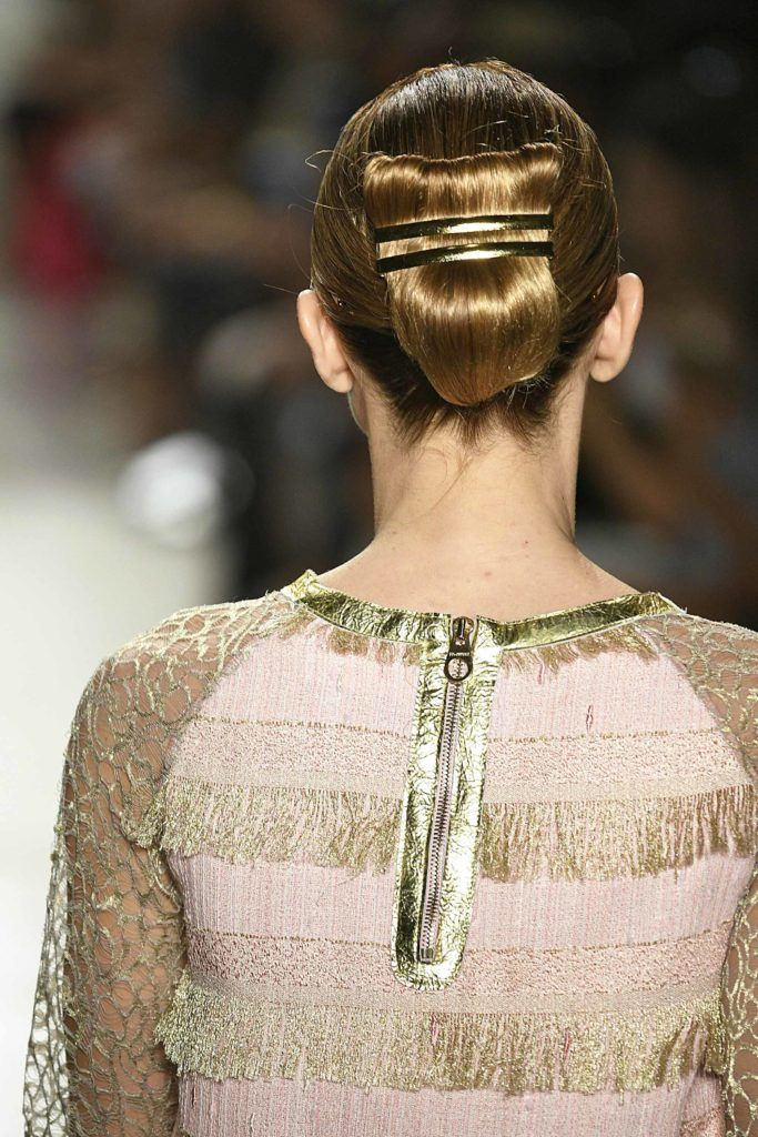 slicked back updos for thin hair