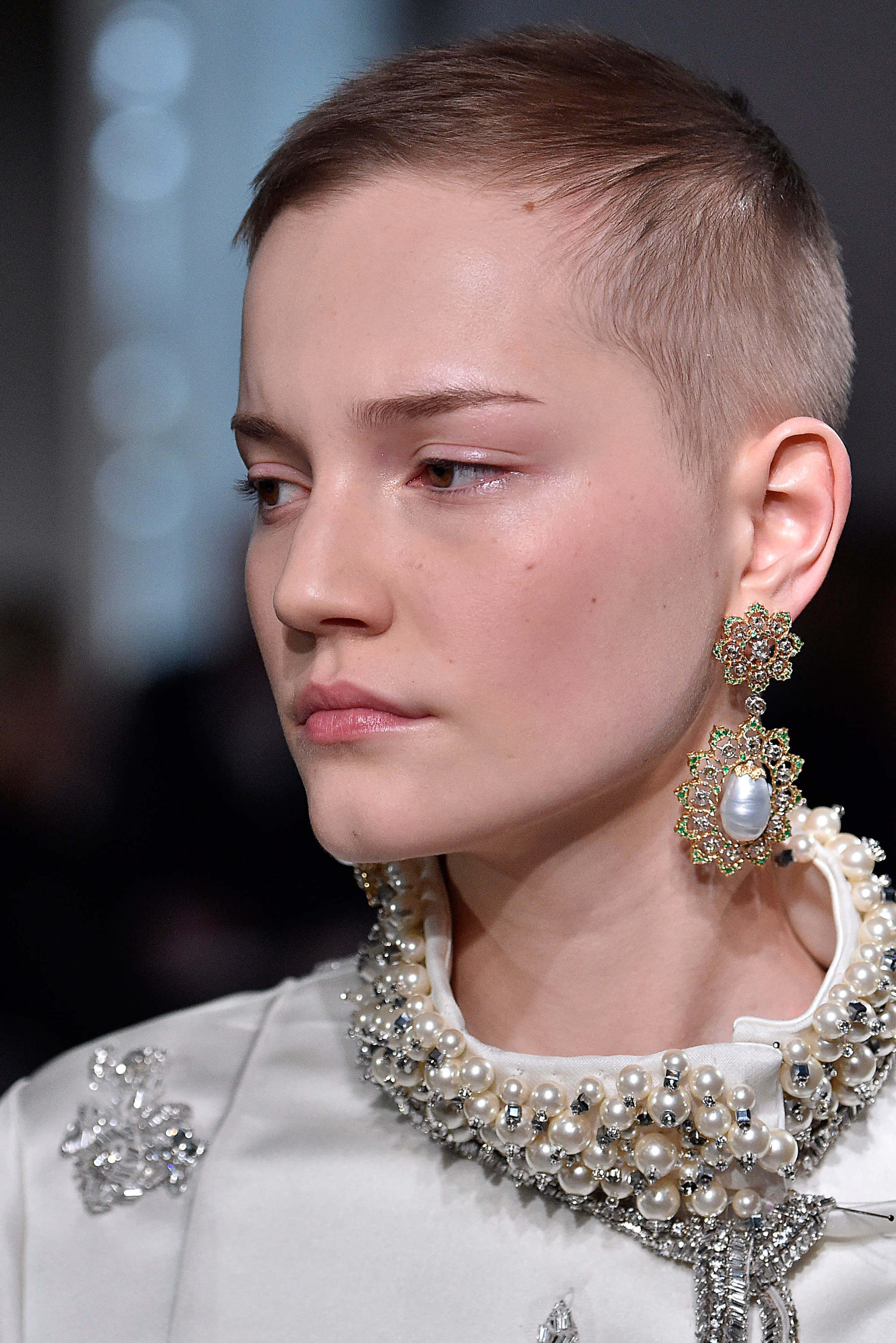 longer buzz cuts for women