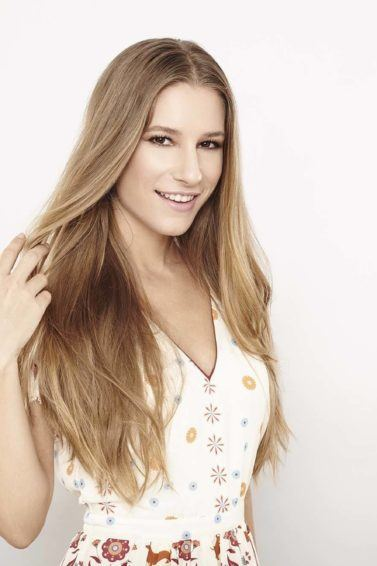 hair highlights for spring with peek-a-boo highlights