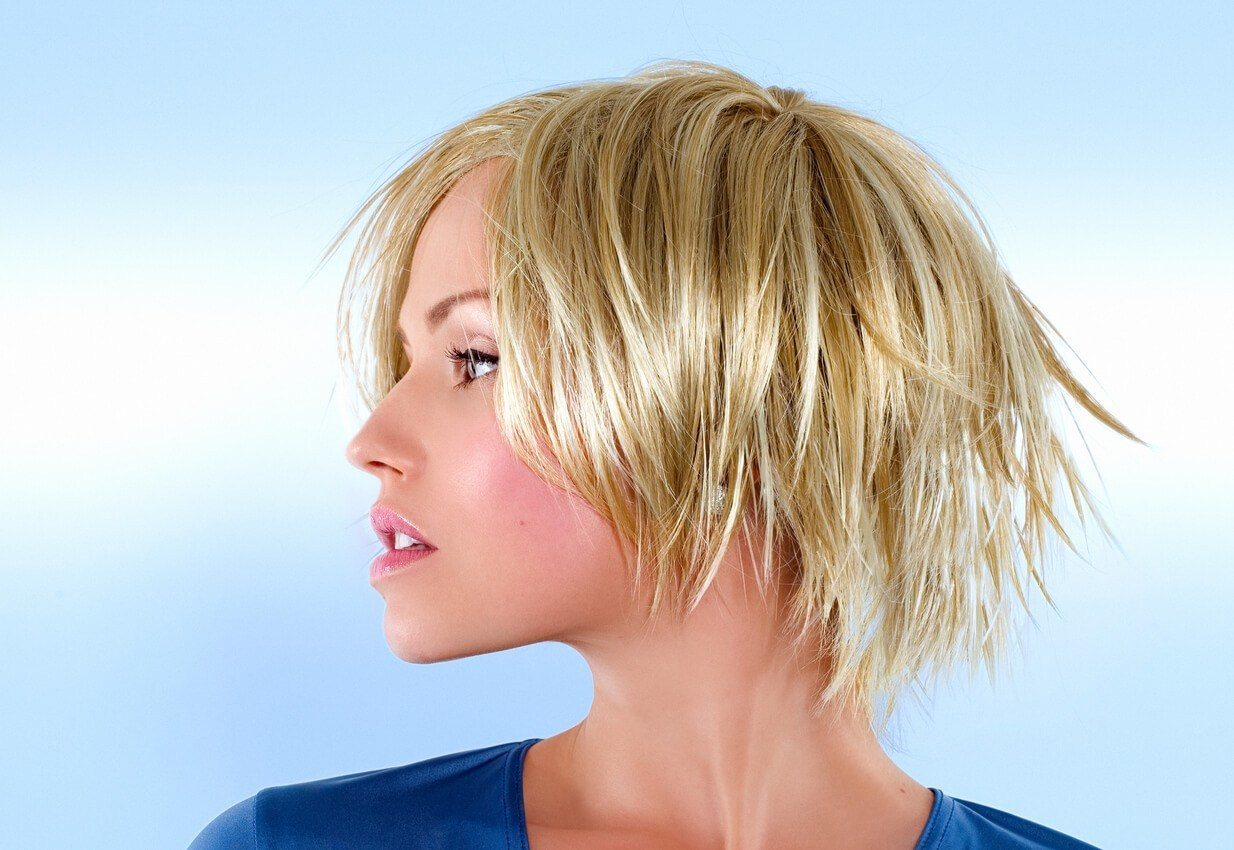 Best hairstyles for your hair type include cuts with lots of layers.