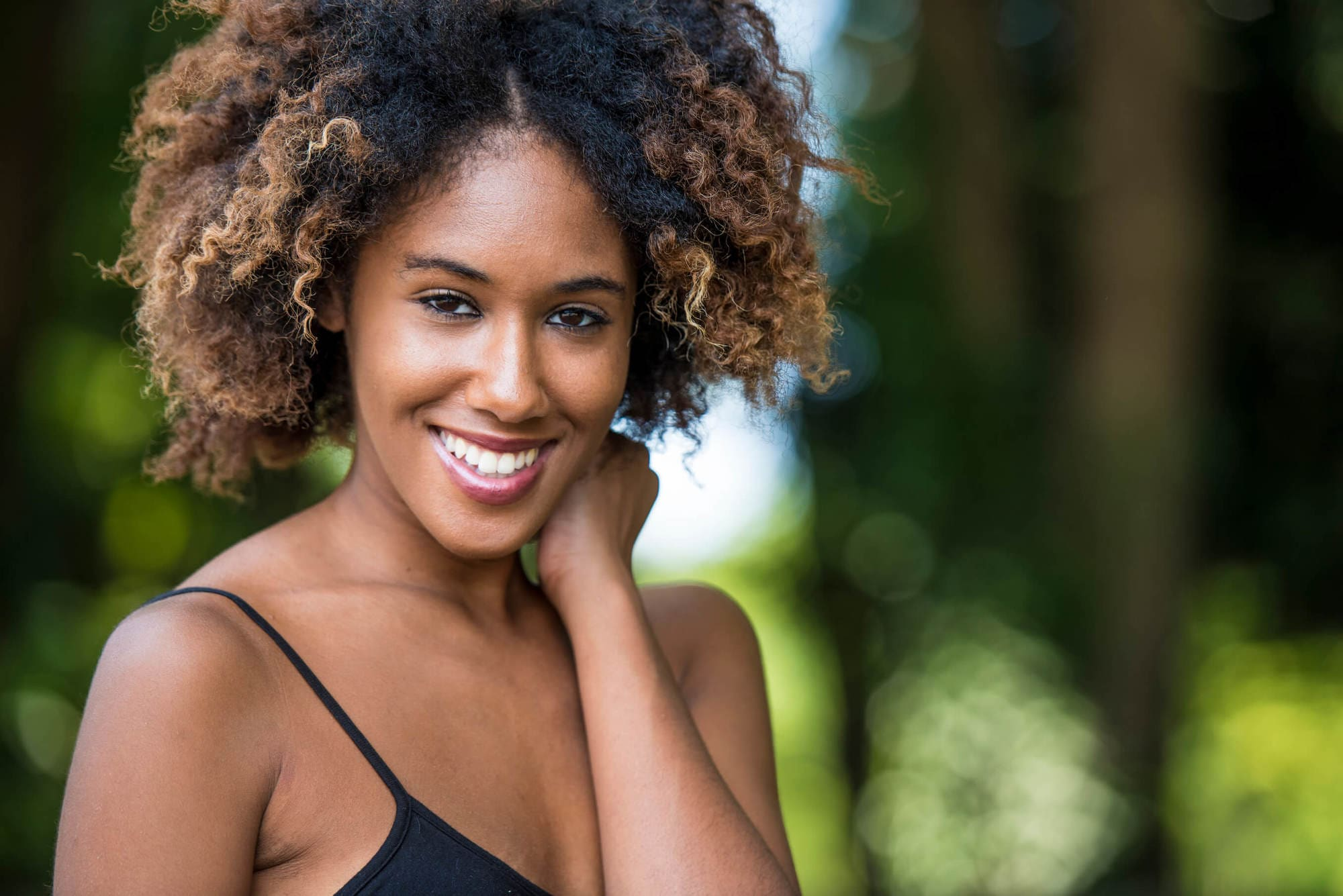 Best hairstyles for your hair type include natural hairstyles like the afro