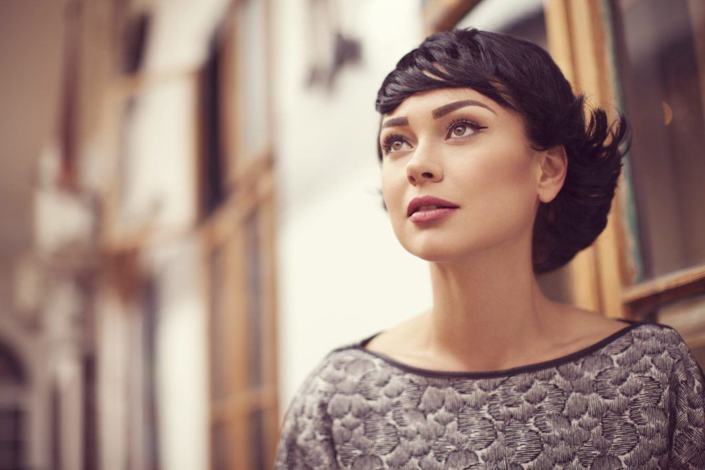 how to style short hair in a flippy bob