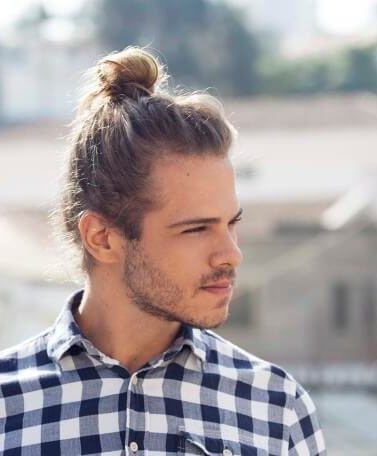 How To Grow A Man Bun Easy Ways To Get This Look