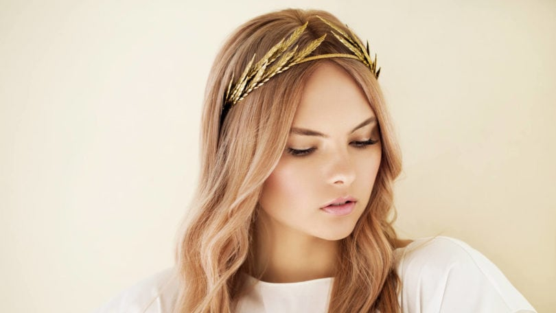 Metallic Accessories gold headband