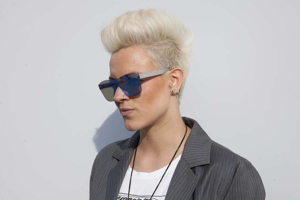 8 Fashionable Mohawk Hairstyles For Women From Haute To Head Turning