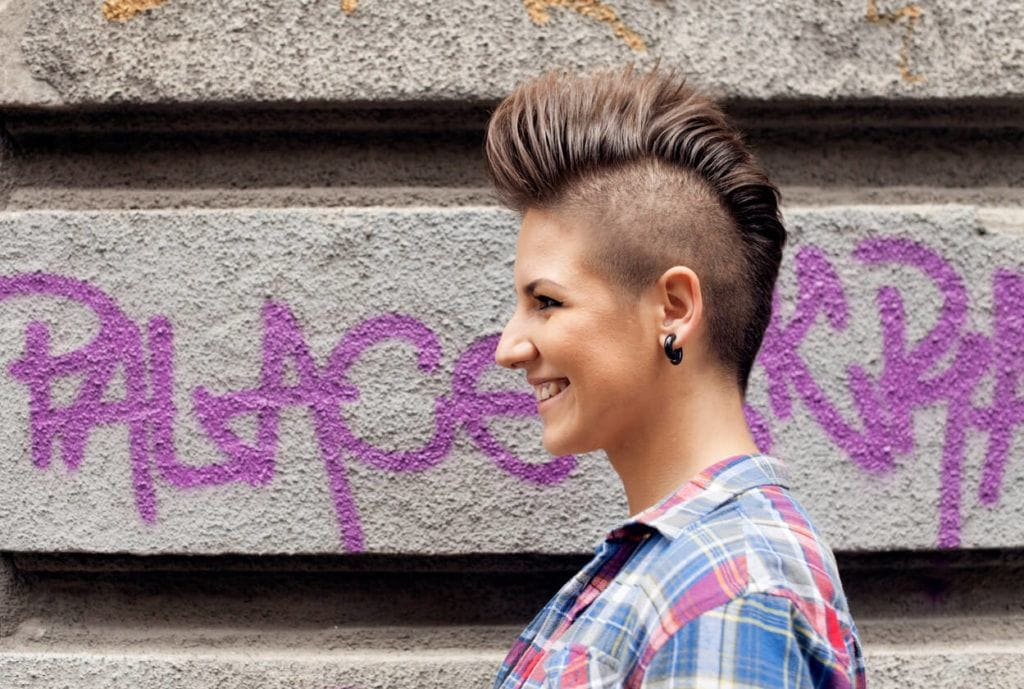 Mohawk Hairstyles For Women Fashionable And On Trend Short Hair Ideas