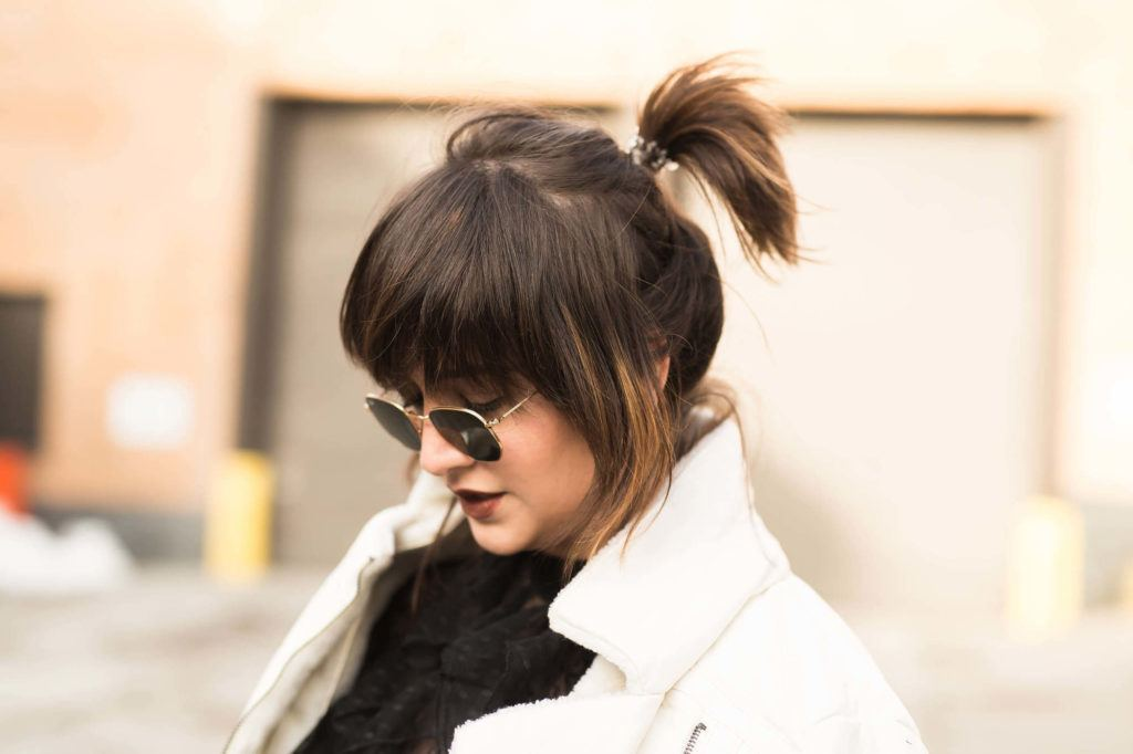 new hairstyles for spring ponytail.
