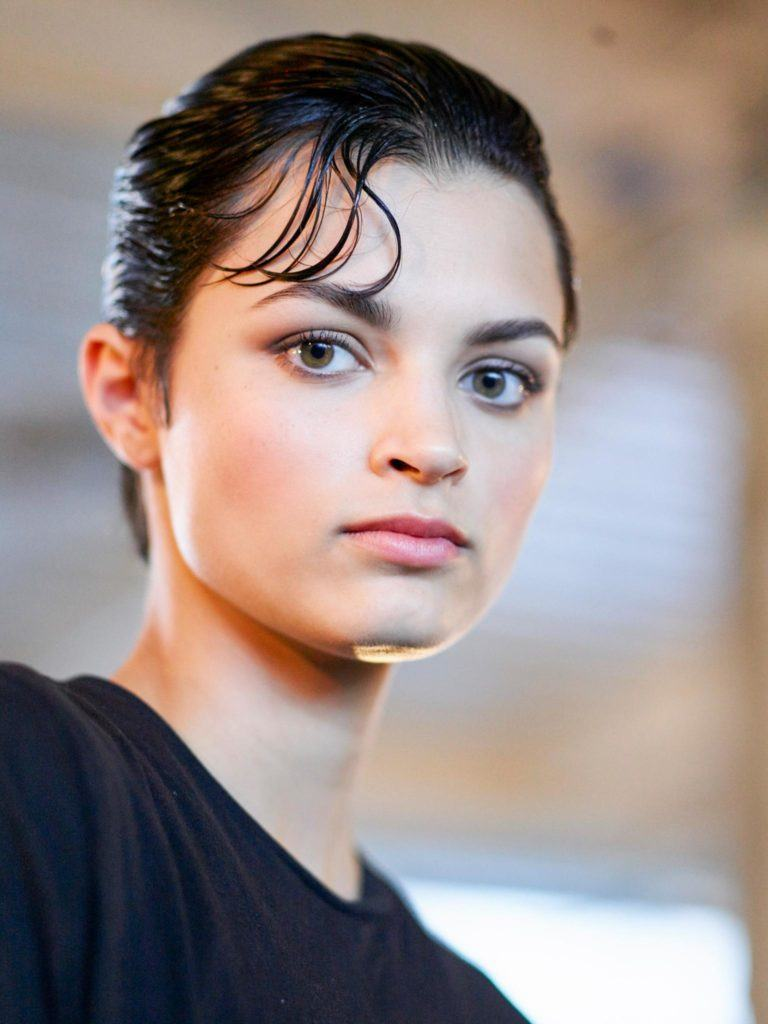 new hairstyles for spring like a wet look