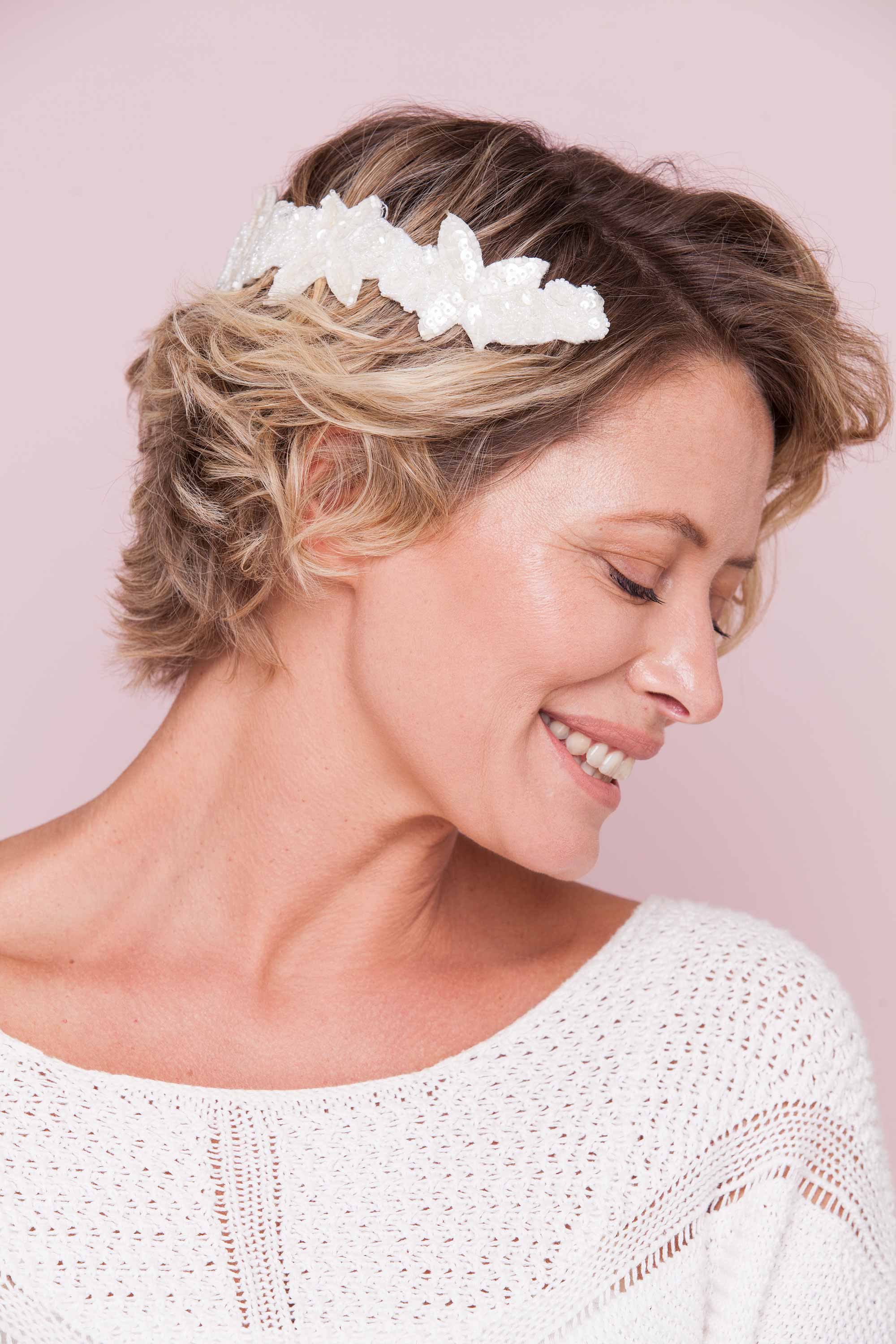 party hairstyles for short hair with accessories