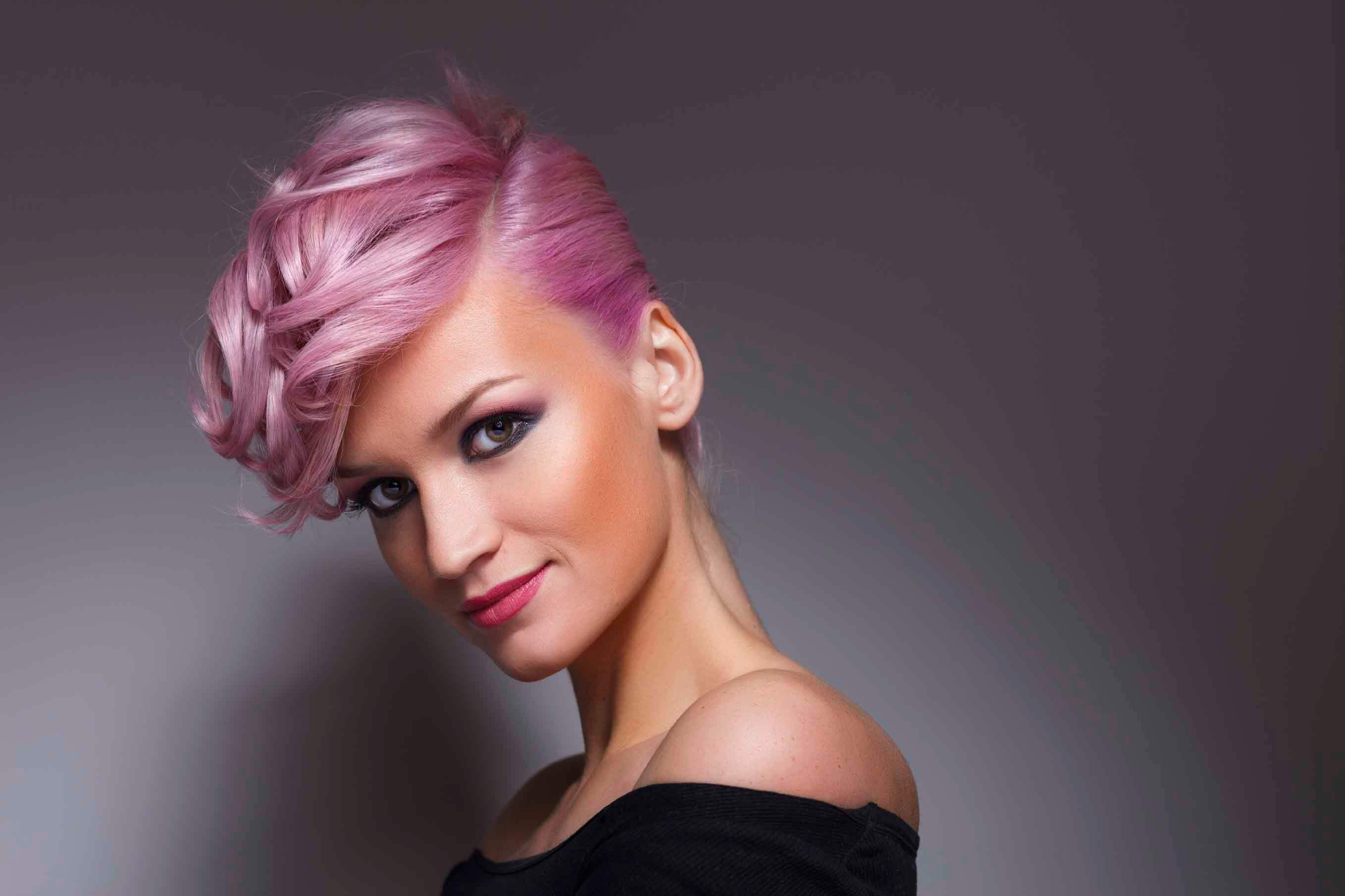 party hairstyles for short hair with an updo