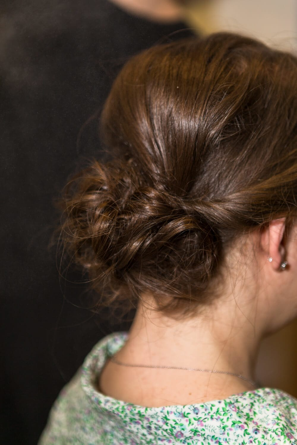 red carpet updo hairstyles for prom: twisted curled updo