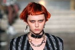 short punk hairstyles with a micro fringe