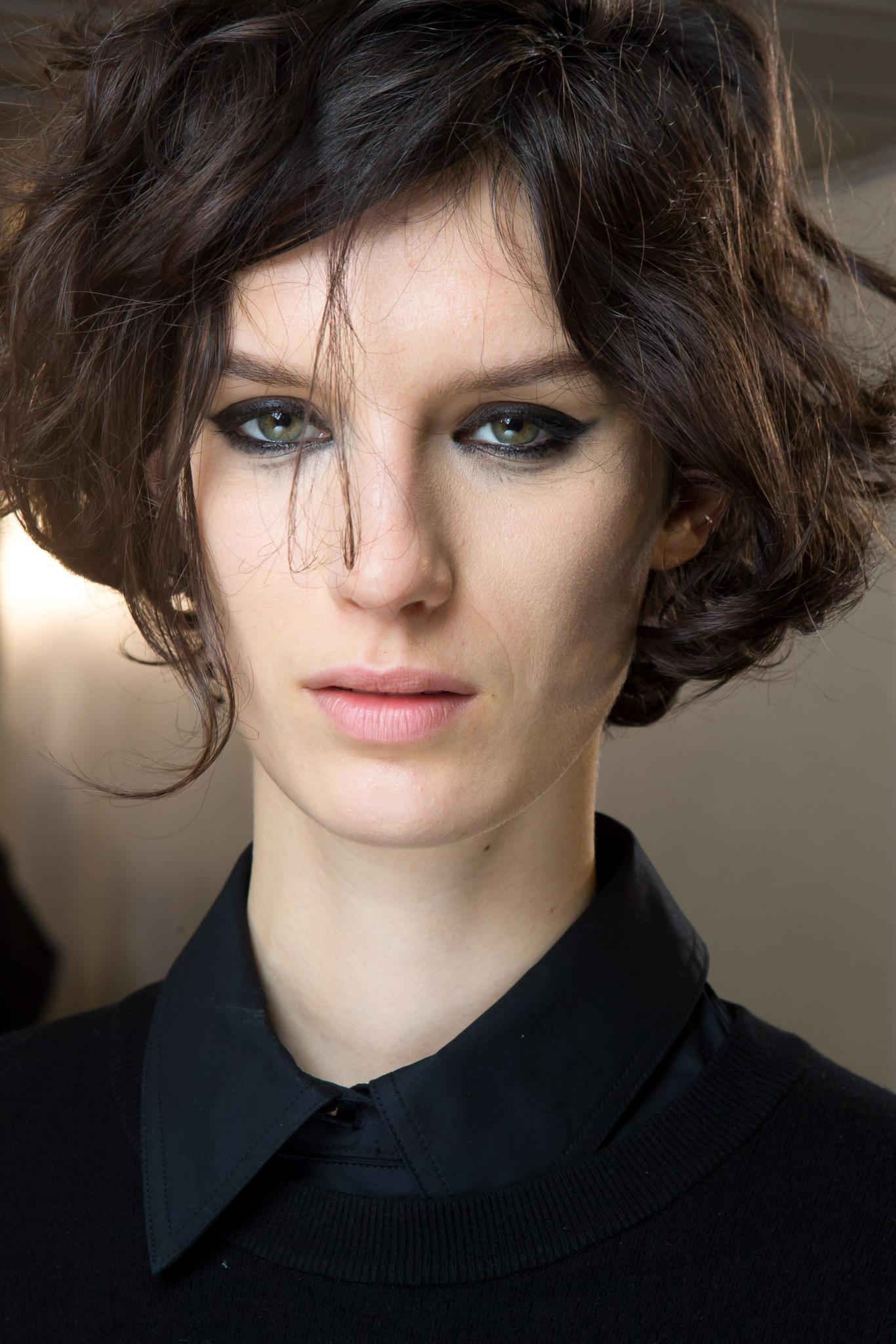 short tousled haircuts tousled hair get the runway look on any hair type 4770 | short tousled hair wavy crop