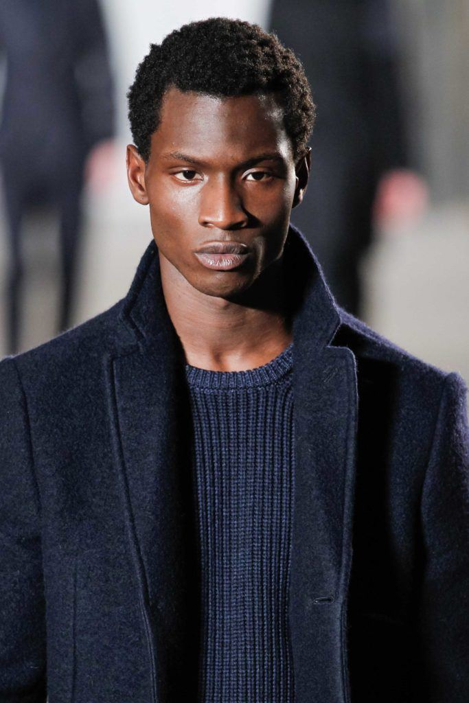 Spring Hairstyles For Black Men include mini afro styles.