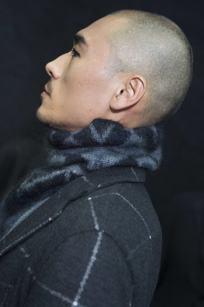 You can wear straight asian hair types many different ways. Buzzed hair.