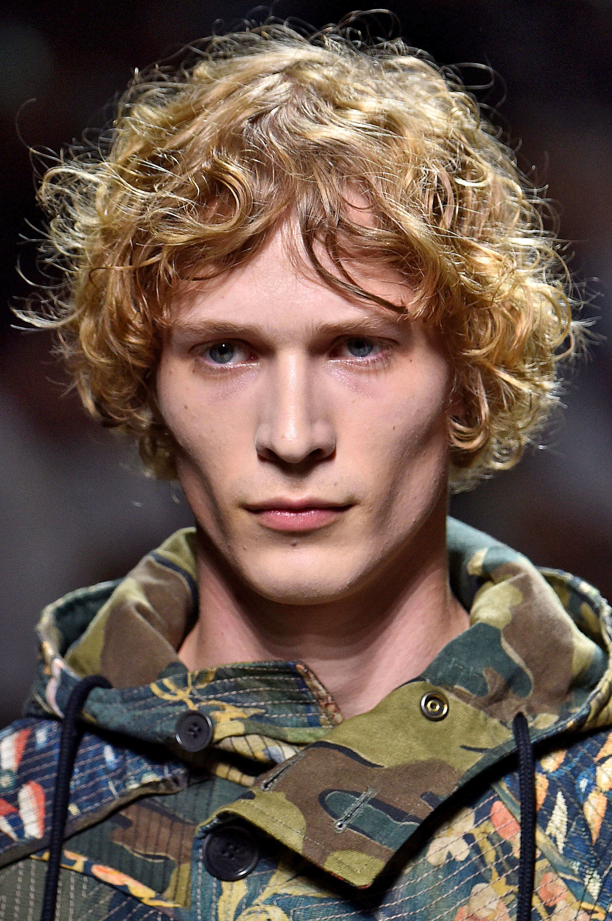 style men's curls with big ringlets