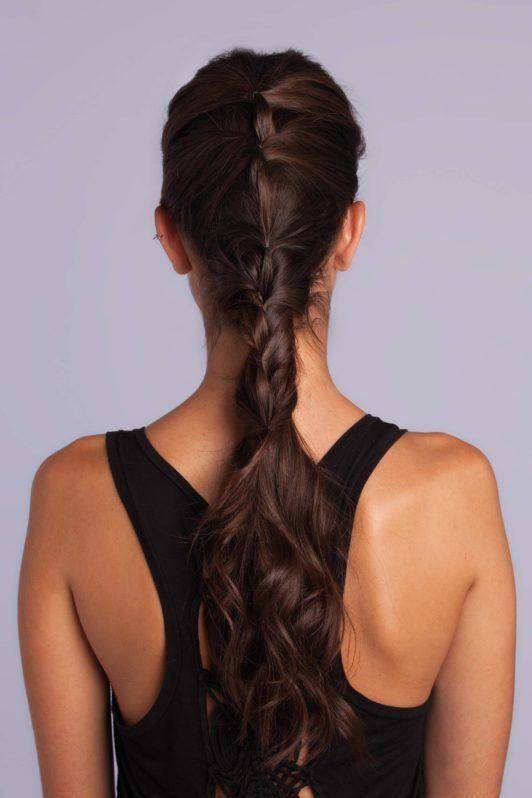 braid styles tutorial ponytail