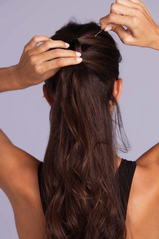 braid styles tutorial: pin your hair