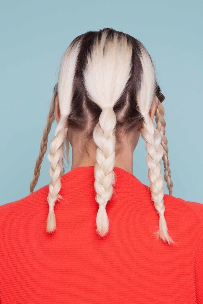 easy braided hairstyles on blonde hair