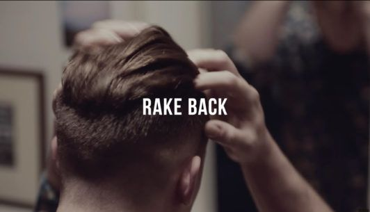 rake back your undercut hair