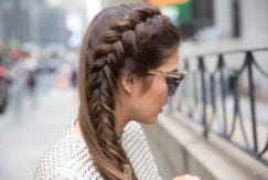 perfect side french braid
