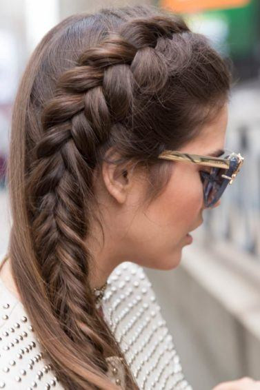how to create the perfect side french braid