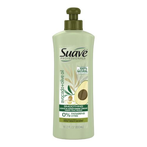 SUAVE PROFESSIONALS AVOCADO + OLIVE OIL SMOOTHING LEAVE-IN CONDITIONER