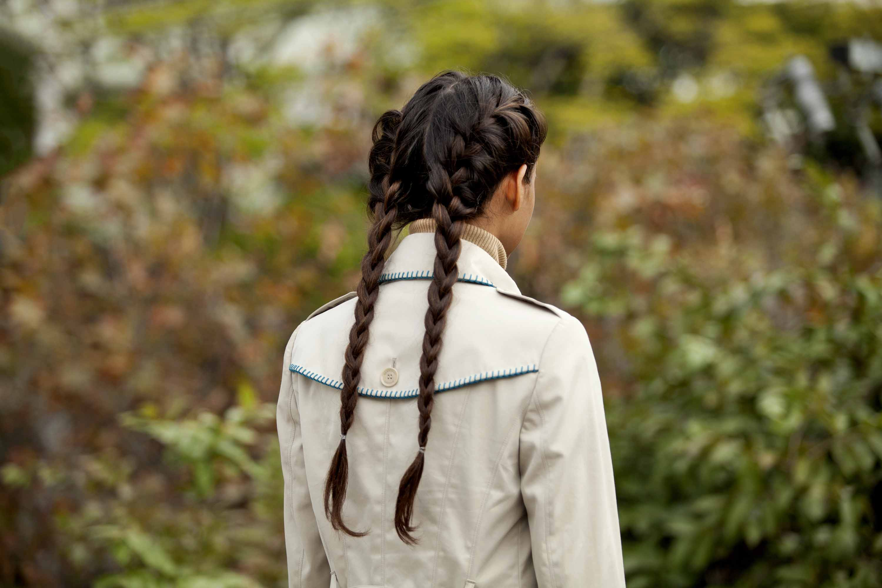 two French braids hair tutorial