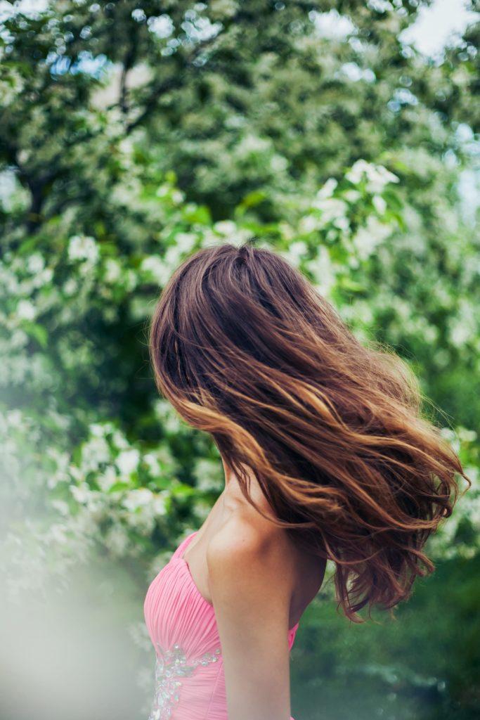balayage long hair caramel