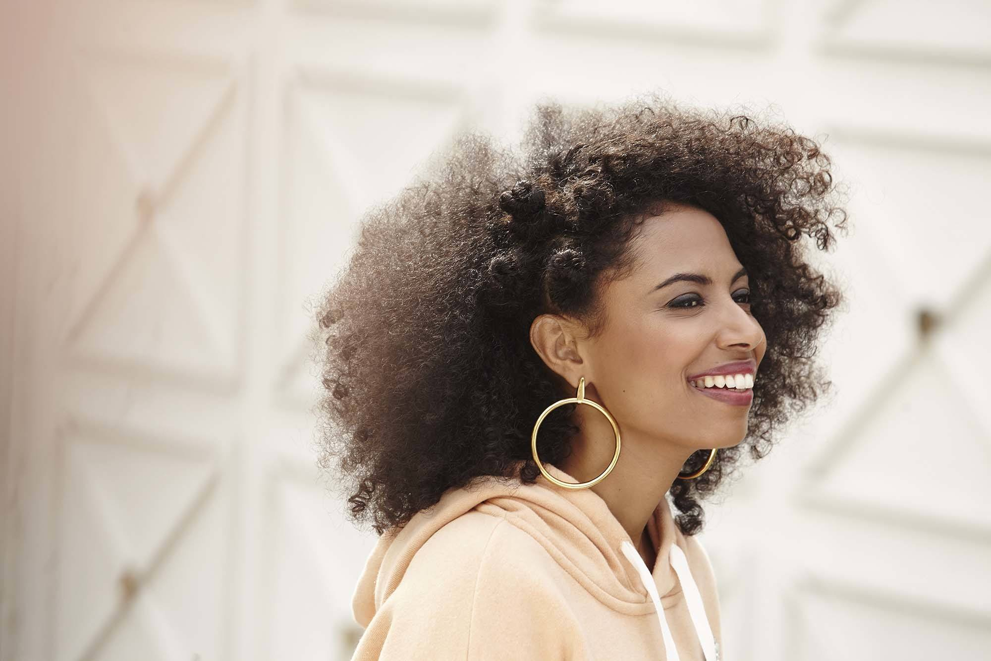 How To Mold Natural Hair Down
