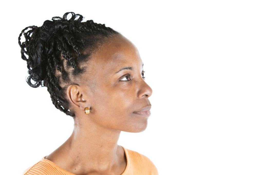 box braids updo curly hair extensions