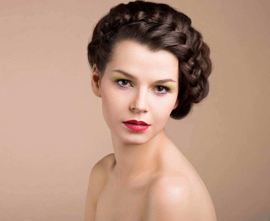 side braided updos for long hair