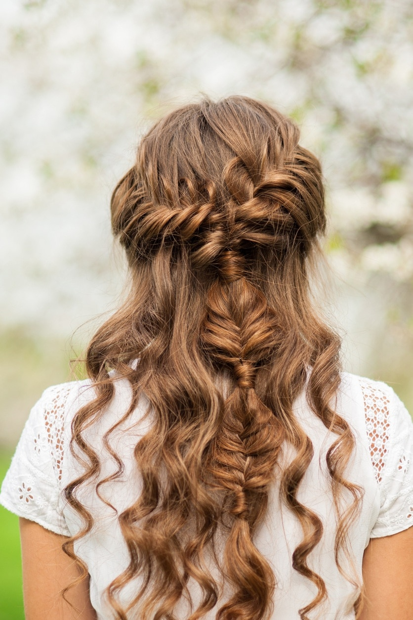 curly long hair style curly braids 30 style ideas you need to now 4012 | curly braids mix braids