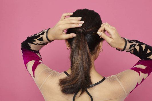 An Easy Elegant Ponytail Tutorial You Need In Your Hairstyling