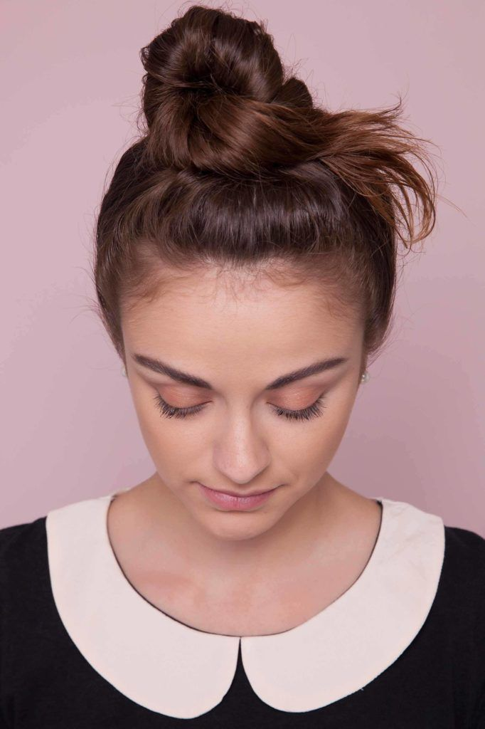 messy hair tutorial