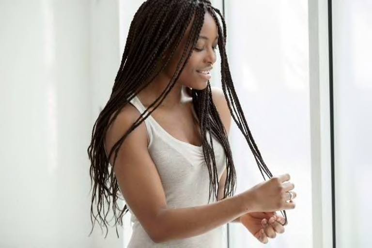 how to do box braids yourself