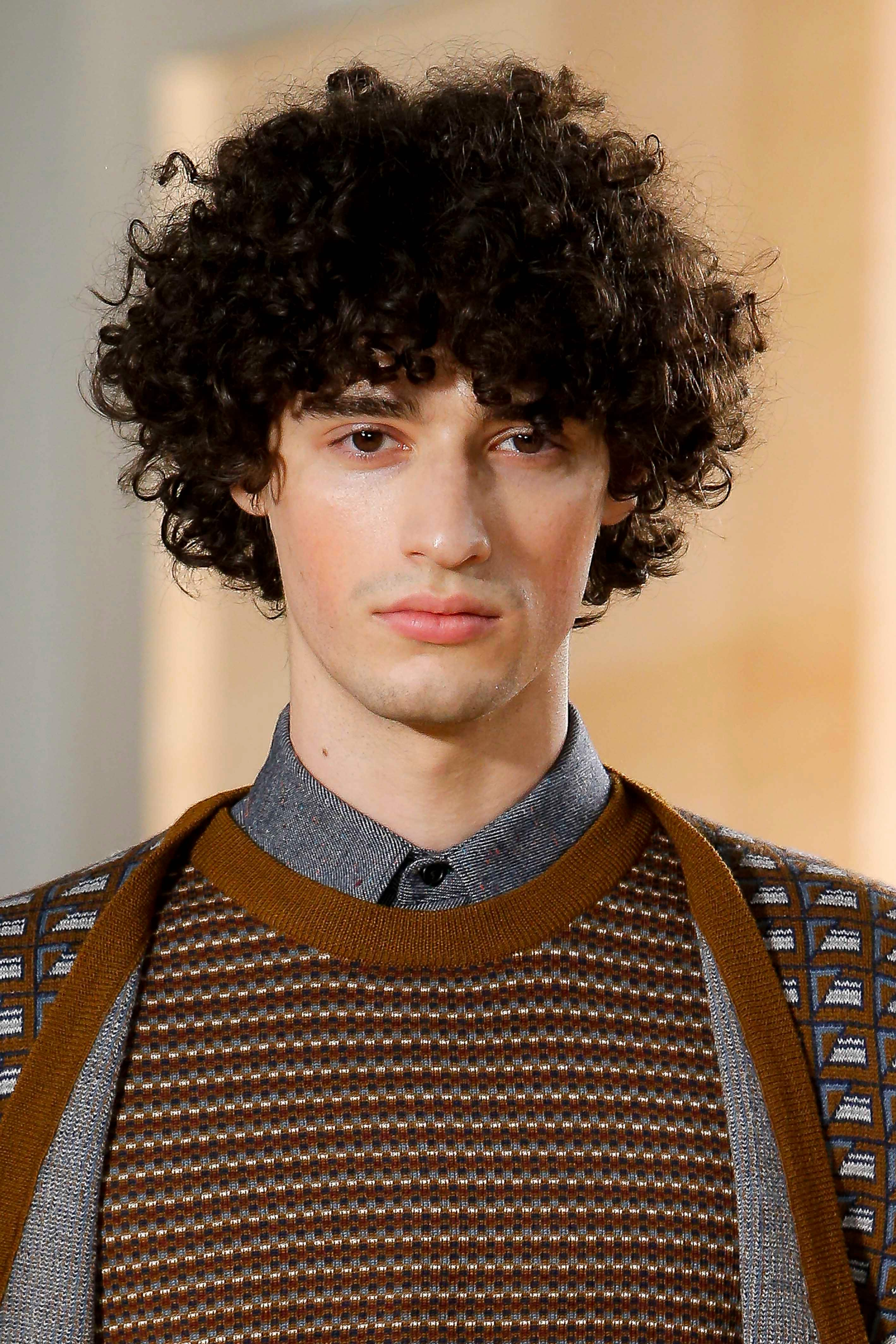 How To Style Men S Curly Hair 10 Cool And Easy Looks