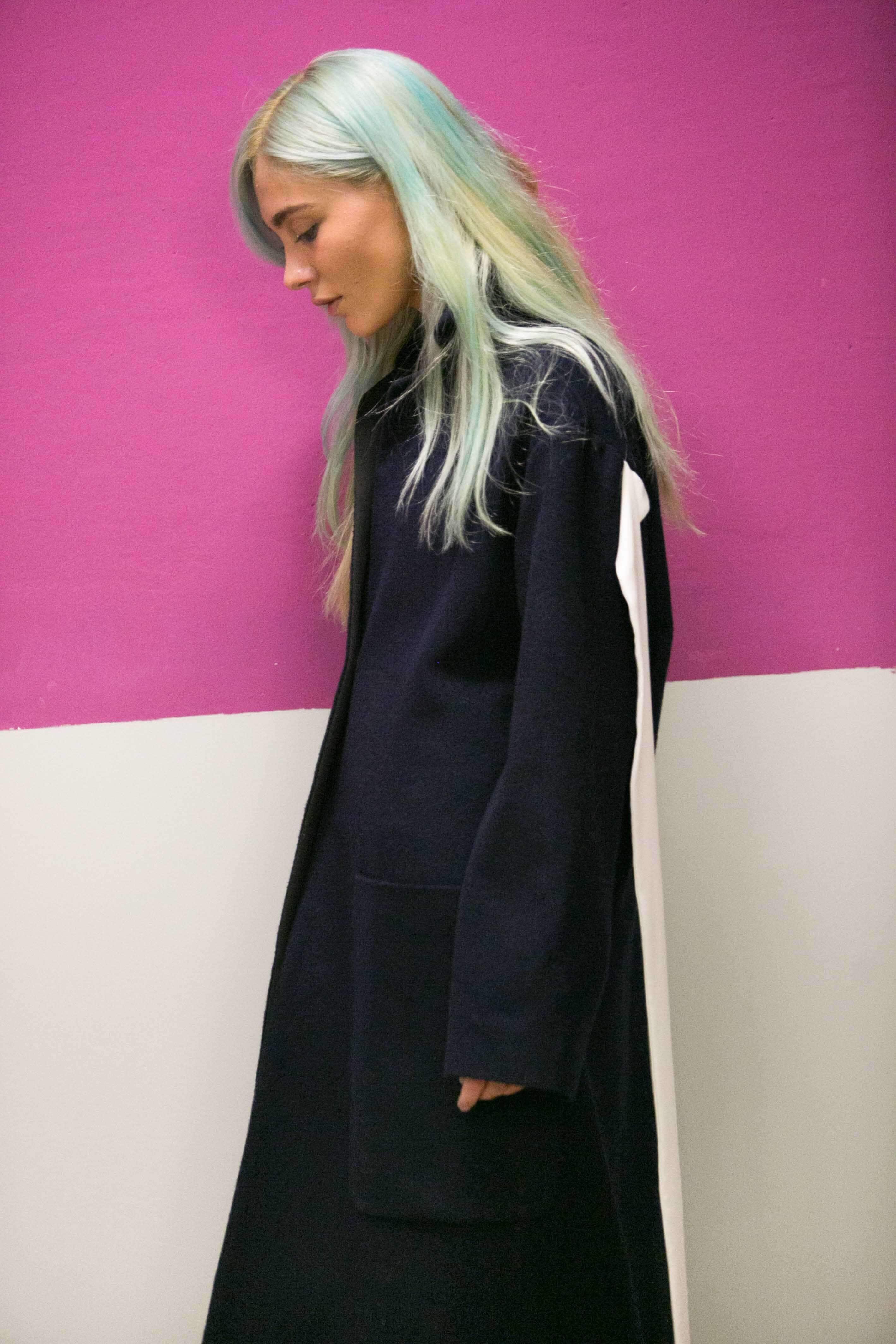 pastel blue hair trend