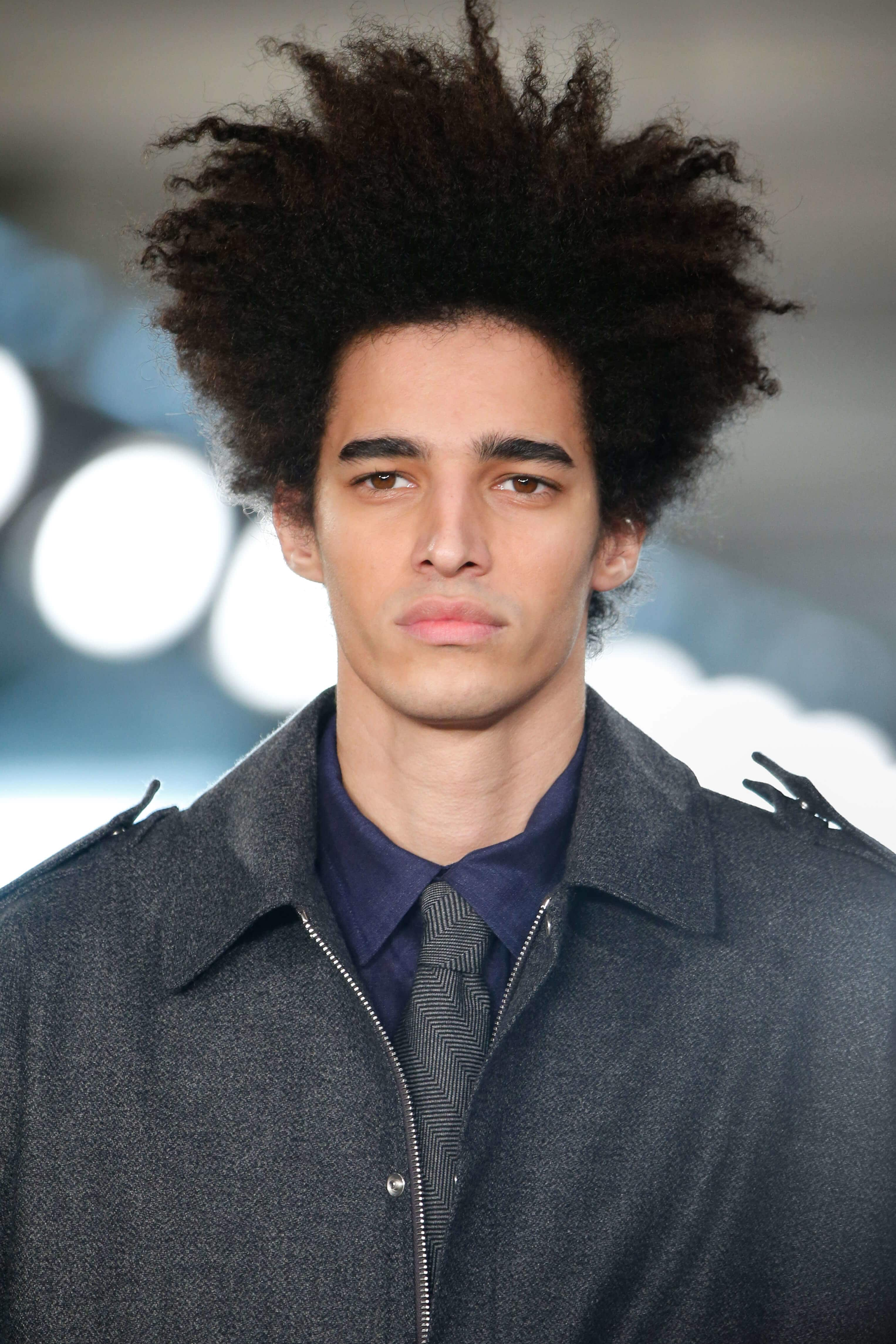 taper haircut afro taper fade cuts edgy cool and stylish ideas for guys 1184