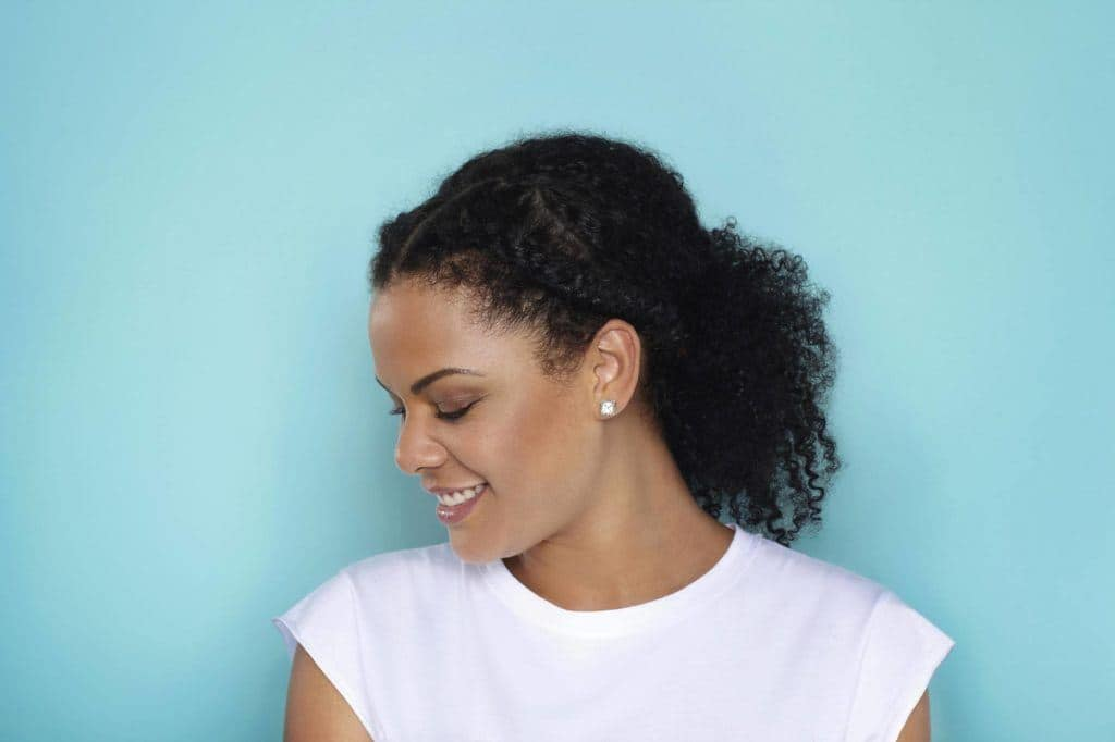 african american hairstyles low ponytail