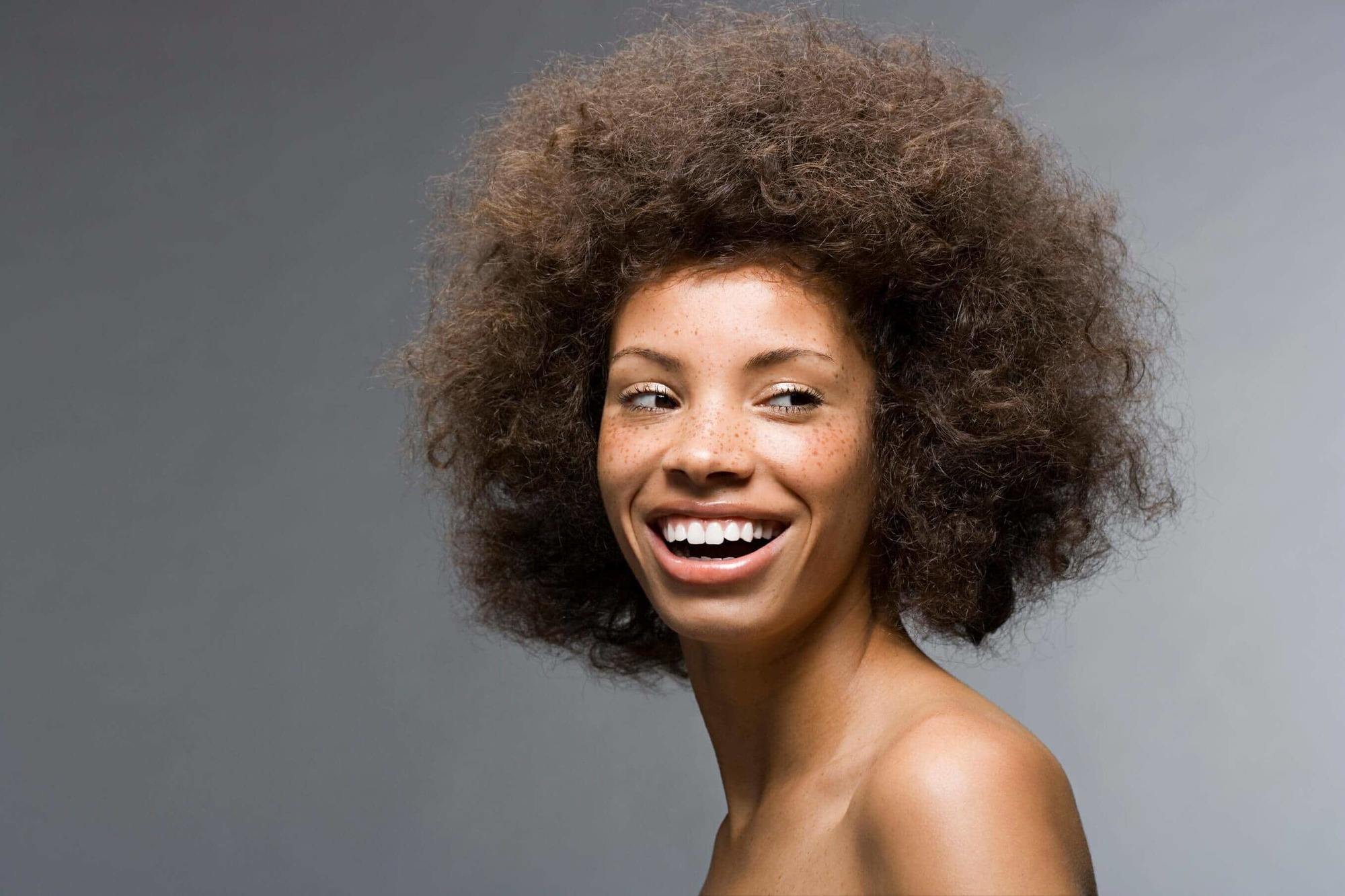 afro hairstyles with a medium afro