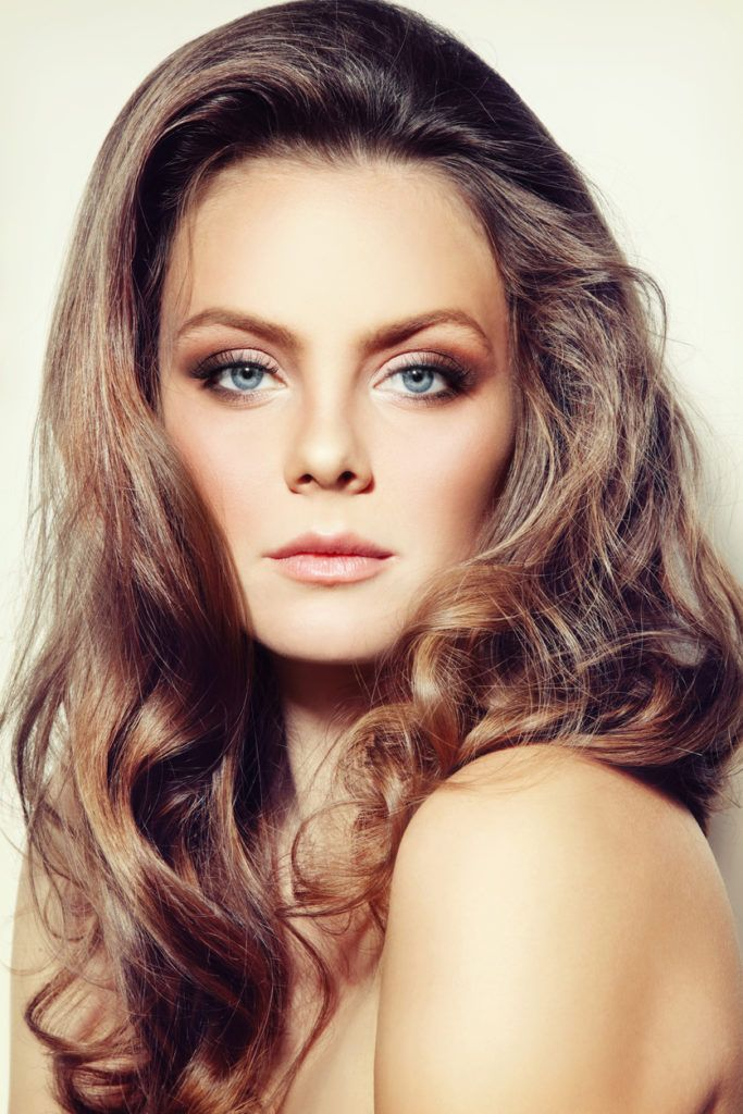 Balayage curly hair trends and color trends for all commitment levels smooth rosewood highlights pmusecretfo Choice Image