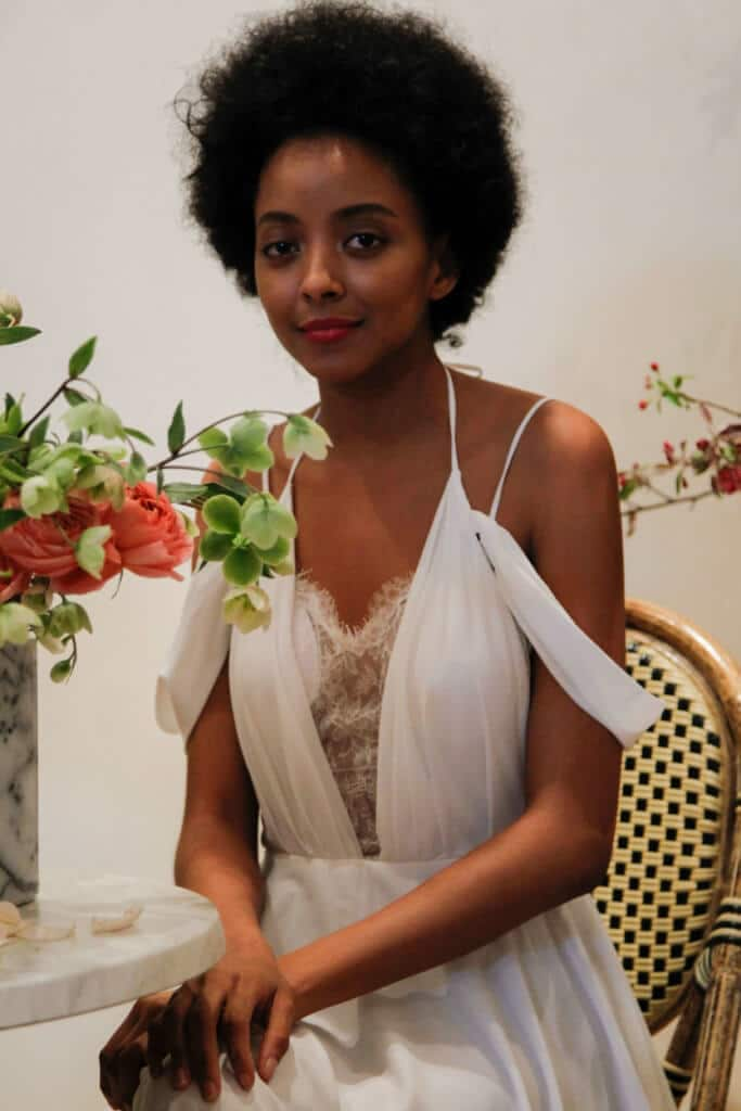 beach wedding hairstyles natural afro