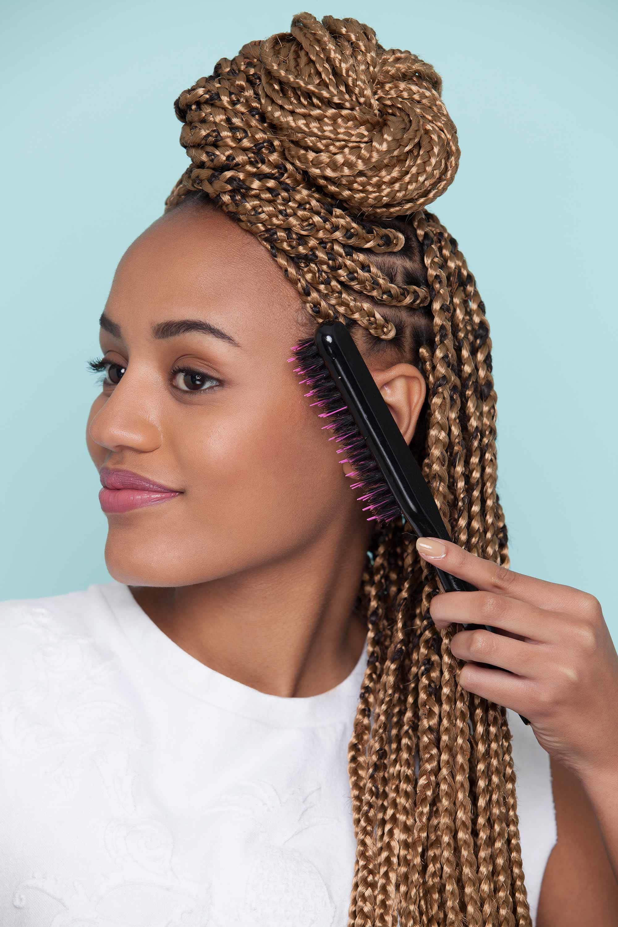 best hair brush for braids