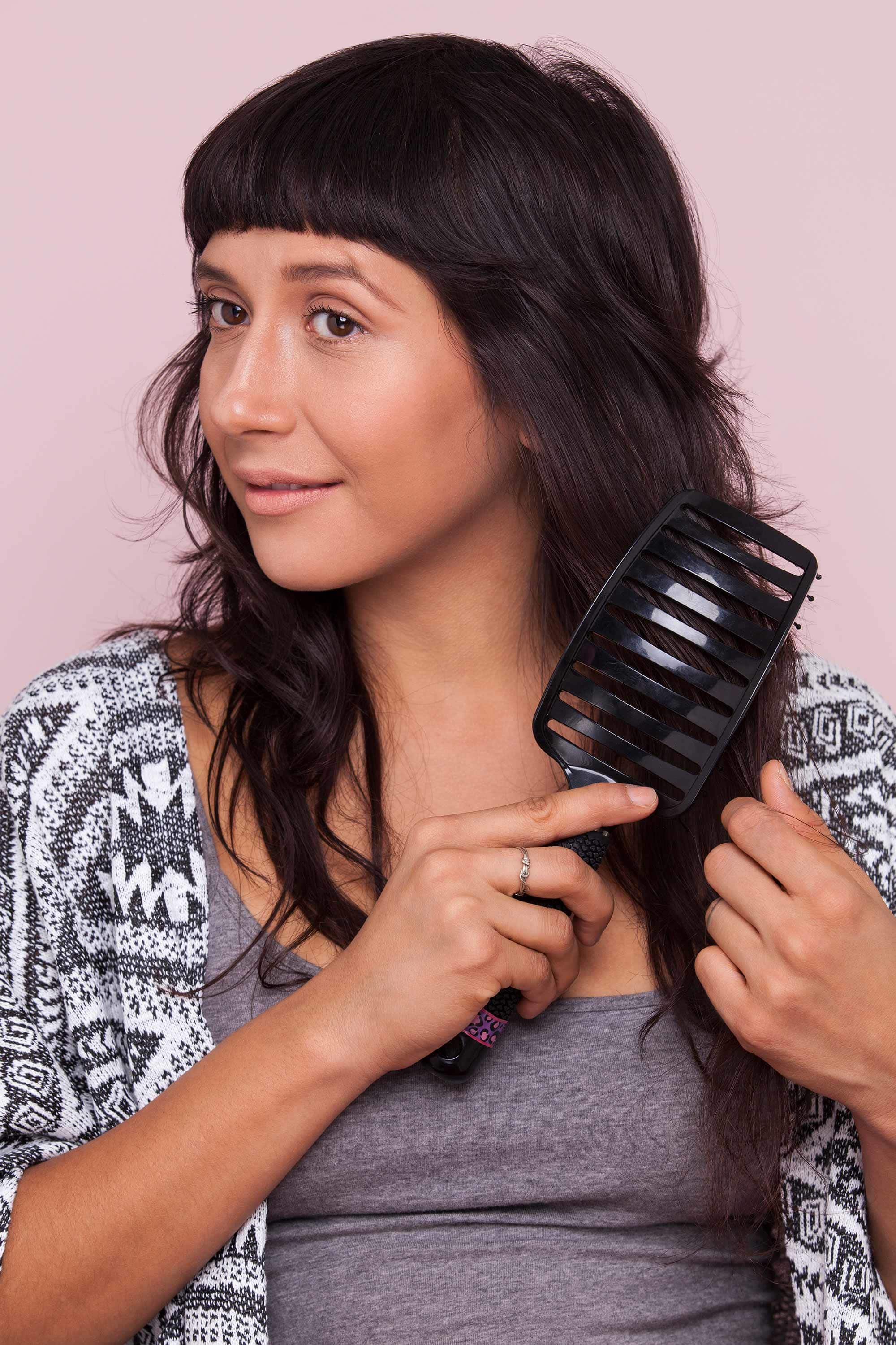 best hair brush with a vented brush