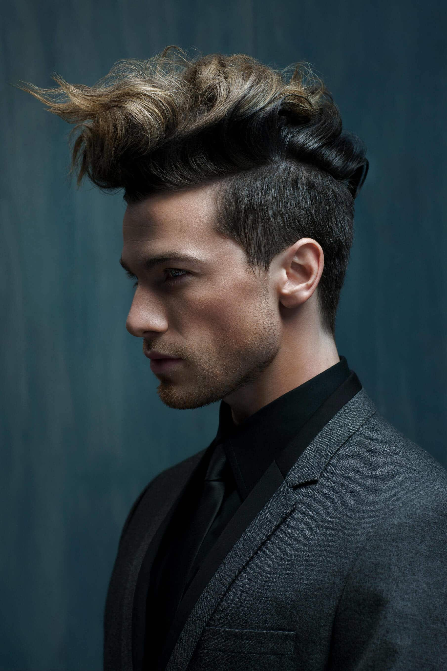 best mens haircuts: voluminous pompadour