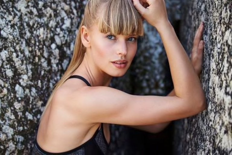 full bangs hairstyles for long faces