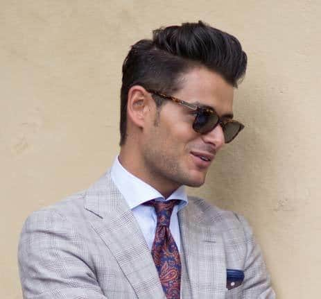 hair grease for men: pompadour hairstyle