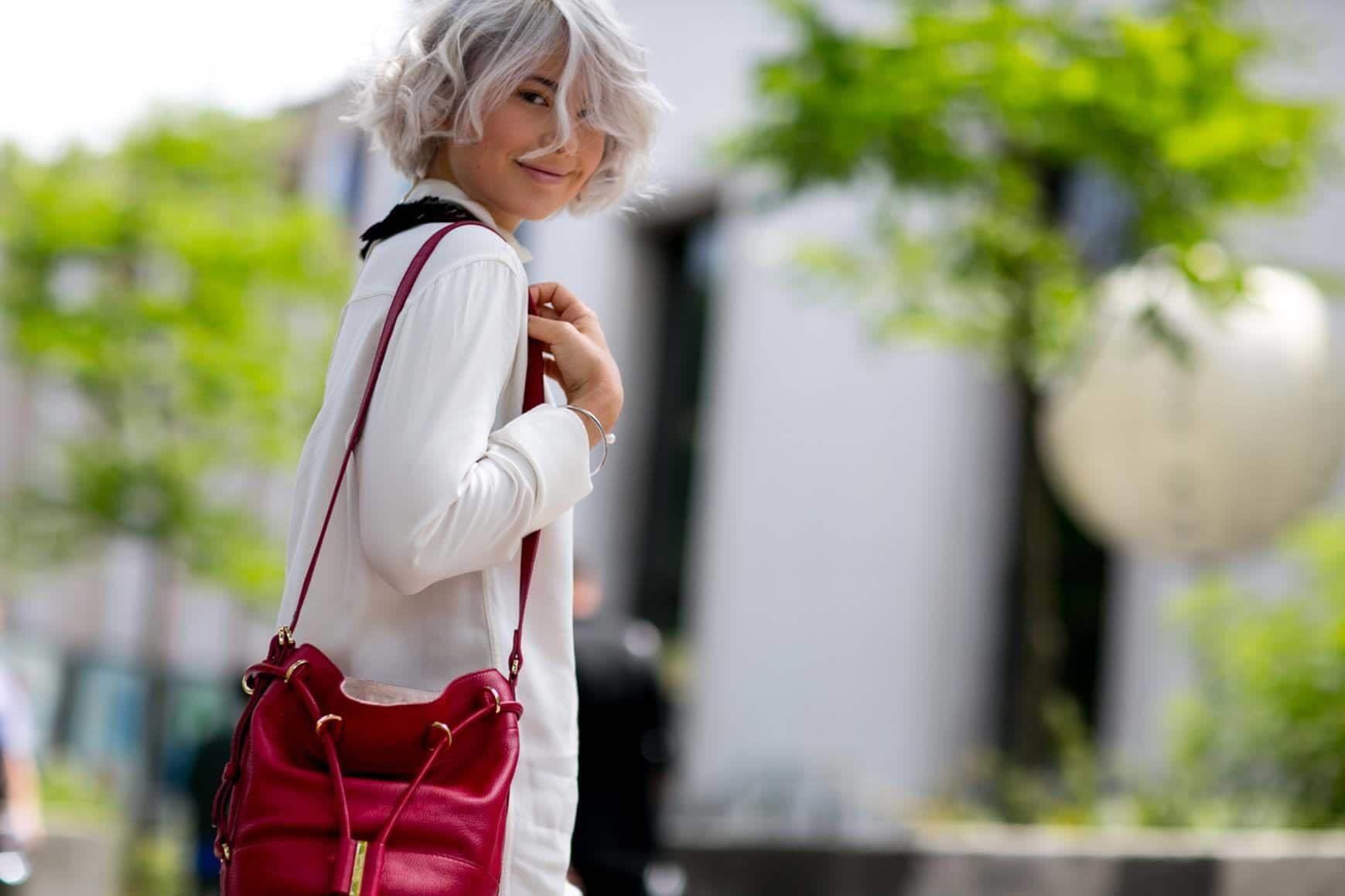spring hair colors white hair